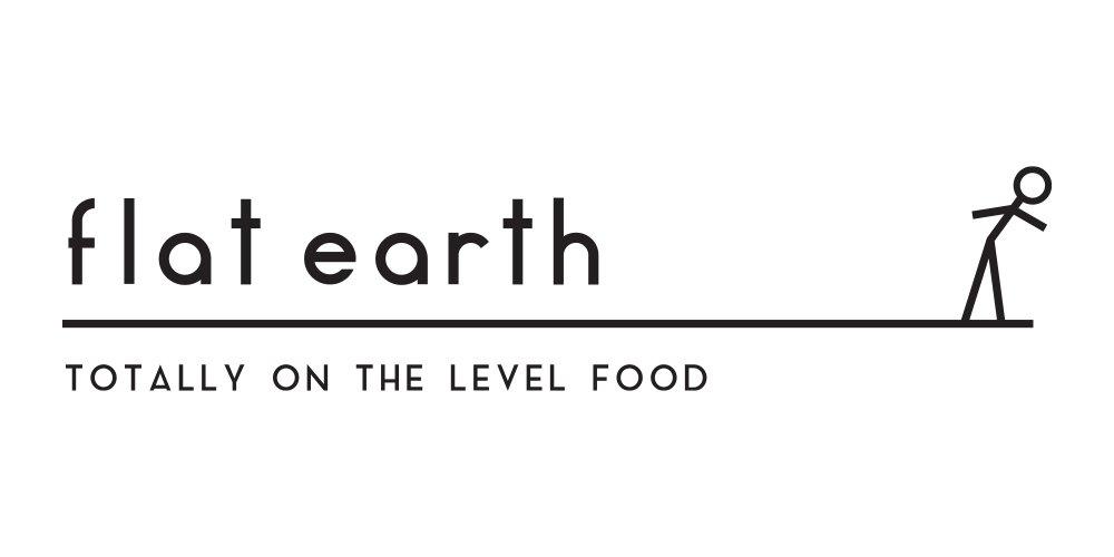 Flat earth Logo Folio