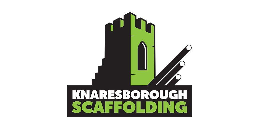 Knaresborough Scaffolding Logo Folio