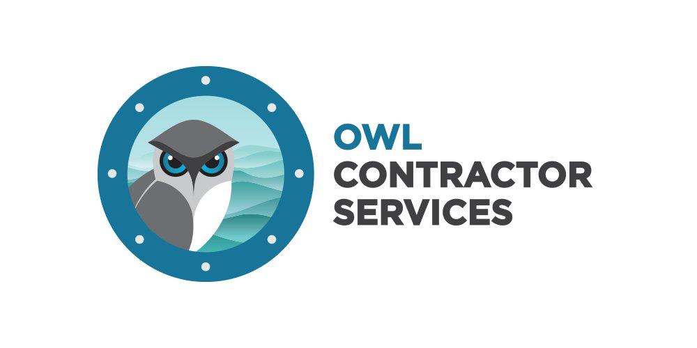 OWL Contractor Services Logo Folio