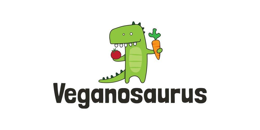 Veganosaurus Logo Folio