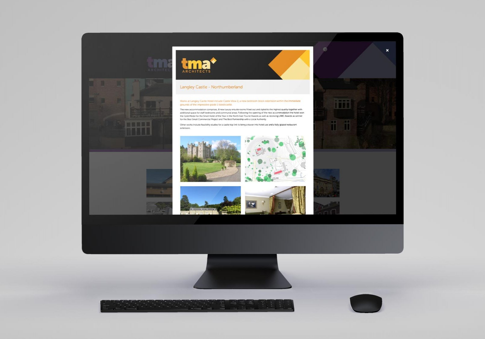 TMA Architects Projects Page Popup